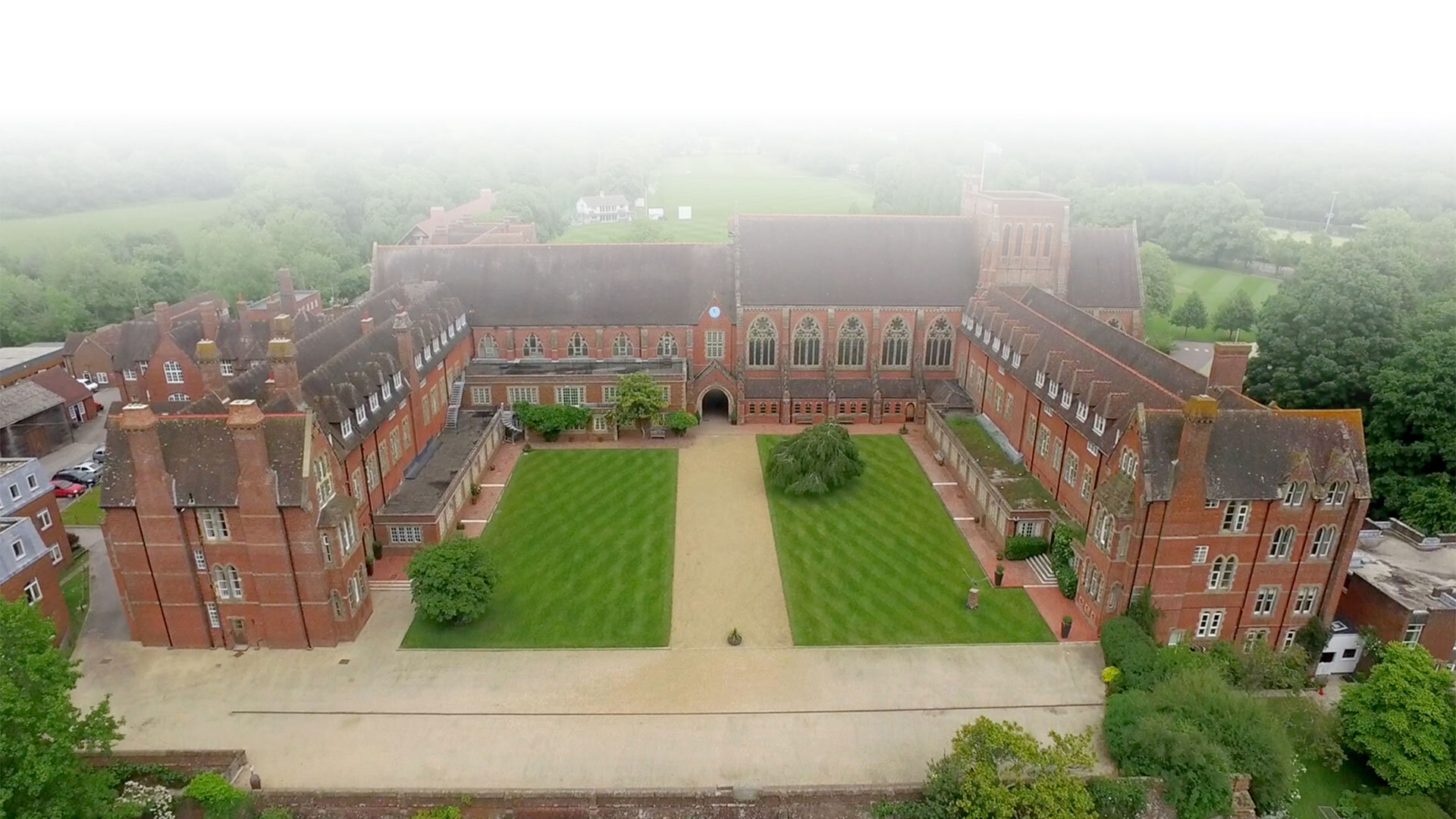 Ardingly College Overview building